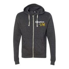 J America Adult Tri-Blend Full Zip Hooded Fleece Create A Signature, Signature Design, Full Zip Hoodie, Hooded Jacket, Hoods, Winter Fashion, Stylish, Sweatshirts, Cotton