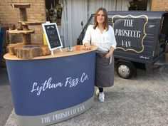 prosecco van by lytham fizz co