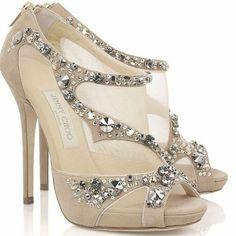 2c9d52a1c34 Something D would wear Jimmy Choo Bridal Shoes