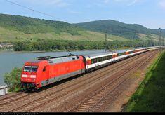 101096 DB AG DB 101 at Koblenz, Germany by Wayland Smith Db Ag, Train Tracks, Taiwan, Switzerland, Germany, Adventure, Europe, Deutsch, Adventure Movies