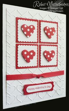 http://RobinsCraftRoom.com » Blog Archive » Fun with Valentine Cards – Card #4