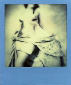 Blue Pinup • Limited Edition Polaroid Photograph