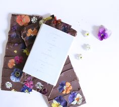 Handmade Floral Choc