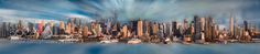 New York City Panorama by nmmaundu1. @go4fotos