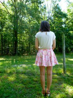 Ikat Tania Culottes by Sarah Jean #sewing #shorts #skirts #megannielsen #summer #ikat