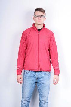 Umbro Mens S Jacket Red Tracksuit Top Sweatshirt Sport Windbreaker