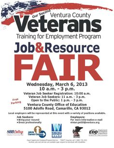 #Pacificaire owner Mark Schneider will be at the Veterans Training for Employment Job Fair this Wednesday in Camarillo!