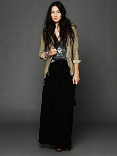 Spinner Maxi Skirt in clothes-skirts