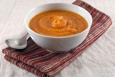 Night Baking: Roasted Carrot and Orange Lentil Soup  *g