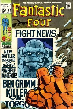 Fantastic Four Series) 92 Marvel Comics Modern Age Comic book covers Super Heroes Villians Sue Storm Reed Richards The Thing Human Torch Fantastic Four Univers Marvel, Jack Kirby, Stan Lee, Marvel Comic Books, Comic Books Art, Fantastic Four Comics, Midtown Comics, Comic Book Collection, Silver Age Comics