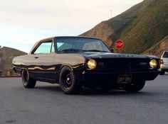 This 1967 Dodge Dart underwent a full custom build by Alloy Motors in Oakland, CA. The idea was to retain the basic character of the Dart with customized all black exterior and performance drivetrain. It is powered by a rebuilt Mopar 360 and 727 and was recently featured on /Drive TV.