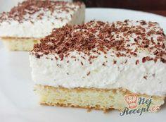Krtkův plech - hrníčkový recept | NejRecept.cz 20 Min, Vanilla Cake, Tiramisu, Food And Drink, Yummy Food, Sweet, Ethnic Recipes, Pastries, Drinks