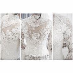 White wedding kebaya. Follow verakebaya on ig.