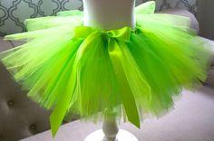 Green Tutu - Girl's Tutu - Bright Green Tutu - Christmas Tutu - St Patrick's Day…