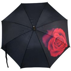 #Harold_Feinstein Art Print #Umbrella - Red Rose