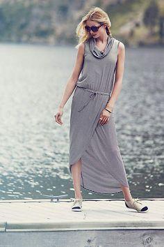 Cowlknit Midi Dress