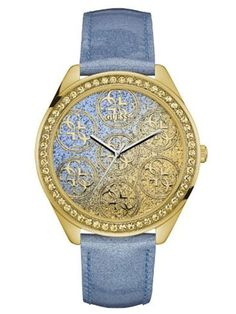 If you like keeping up with the latest fashion and accessory trends, buy Ladies' Watch Guess mm) at the best price. Gender: Lady Watch face colour: Multicolour Bracelet material: Leather Type of movement: Quartz Type of fast Bracelets, Bracelet Silicone, Liu Jo, Cuir Rose, Bracelet Cuir, Cool Things To Buy, Stuff To Buy, Crystals, Shopping