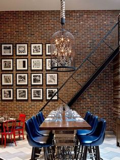Three easy DIY ways to your art on your exposed brick walls.