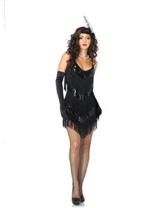 Roaring 20's Honey Adult Womens Costume