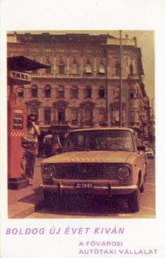 Sárga taxi-Lada a 70-es években