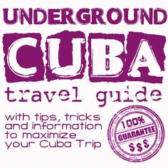 Best travel tips and tricks to save money on your trip to Cuba ... no joke but really useful and 100% money back guarantee Buy the E-book at  http://www.bestcubatravelguide.com?ap_id=CubaJunky