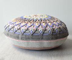 Spanish Mandala was inspired by ceramic handmade plates. Overlay crochet pattern by Lilla Bjorn Crochet