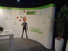 Rechterkant van BIJN.nl stand