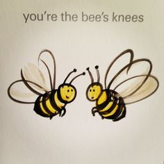 Bees! Do they even have knees? | #quotes pinned by Western Sage and KB Honey (aka Kidd Bros)