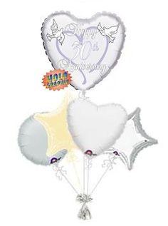 30th Wedding Anniversary Balloons