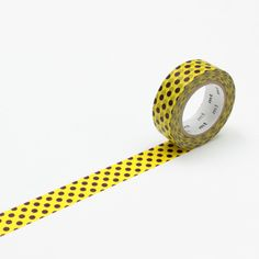 Decorate & play everywhere and peel off without a trace Yellow with brown polka dot washi masking tape A single roll long Made in Japan Mt Tape, Mt Masking Tape, Washi Tapes, Gifts For Kids, Giraffe, Dots, Gift Wrapping, Picnic, Collections