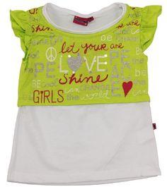Toddler Girls Fresh Green Flutter Sleeve T-Shirt « Clothing Impulse