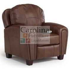 Reclining Reading Chair The Bloomfield Power Recliner from Best Home Furnishings features rolled arms, smooth curves and tear drop arms. The coil spring cushioning, offers a sturdy, yet soft seat cushion with resiliency to last through hundreds of books.