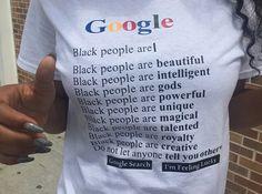 BLACK PEOPLE ARE