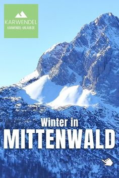 Meine Tipps für deinen #Mittenwald #Winter ✔️ die besten #Skigebiete zum skifahren ✔️ die #Natur beim winterwandern, langlaufen, rodeln erleben ✔️