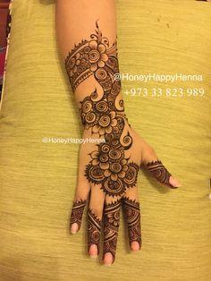 #حنه #حنا #البحرين #HennaArt #HennaDesign #Tattoo #Art #Artist #Design…