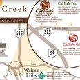 Map of Walnut Creek, Ohio in the heart of the World's Largest Amish community. #Walnut Creek #ohio #Amish