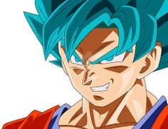 Resultado de imagen para goku ssj blue