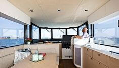 Seafaring 44 Coupé - Jachten - Seafaring Yachts Seafarer, Boat Design, Luxury Yachts, Contemporary Design, Boats, Cutaway, Travel, Ships, Boat
