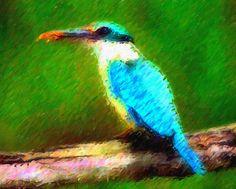 I uploaded new artwork to fineartamerica.com! - 'Bird Perched On Tree 3' - http://fineartamerica.com/featured/bird-perched-on-tree-3-lanjee-chee.html via @fineartamerica