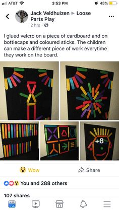 Preschool Class, Kindergarten Classroom, Toddler Preschool, Classroom Ideas, Lollypop Stick Craft, Craft Stick Crafts, Color Activities, Toddler Activities, Preschool Activities