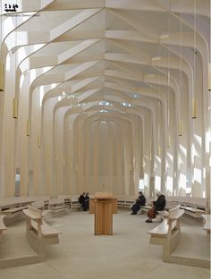 Ripon Chapel, Oxfordshire by Niall McLaughlin Architects