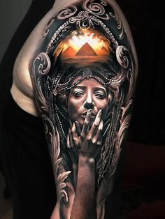 Realistic Shoulder Arm Tattoo Designs For Guys - Best Arm Tattoos For Men: Cool Upper, Lower, Inner, Front, Back and Side Arm Tattoo Designs and Ideas For Guys Dope Tattoos, 3d Tattoos, Badass Tattoos, Arm Tattoos For Guys, Trendy Tattoos, Future Tattoos, Unique Tattoos, Beautiful Tattoos, Body Art Tattoos