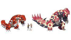 Primal Groudon New Pokemon Game, First Pokemon, Cool Pokemon, Pokemon Games, Pokemon Stuff, Hoenn Region, Strongest Pokemon, Pokemon Regions, Pokemon Omega Ruby
