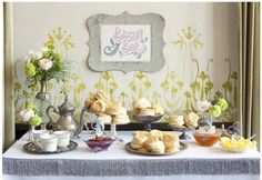 A biscuit bar is an elegant addition to any brunch buffet (Photo by: Anna Wolf on Landlocked Bride via Lover.ly)