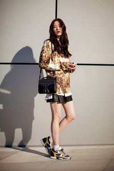 On the street… Songlee Lee Seoul fashion week 2014 F/W   echeveau