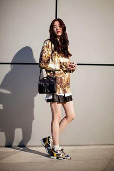 On the street… Songlee Lee Seoul fashion week 2014 F/W | echeveau