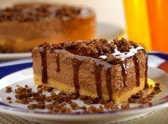 Torta Mousse de Ovomaltine! #ovomaltine #pie #mousse #torta #cake #sobremesa #dessert #chocolat #chocolate #food #comida #natal #christmas #receita