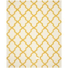 Found it at Wayfair - Martins Ivory / Gold Area Rug