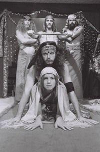 Hippie cult extravaganza this week