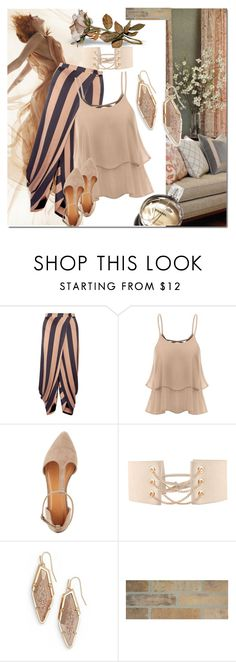 """Untitled #1023"" by audrey-prater ❤ liked on Polyvore featuring STELLA McCARTNEY, Charlotte Russe, Chanel and Kendra Scott"